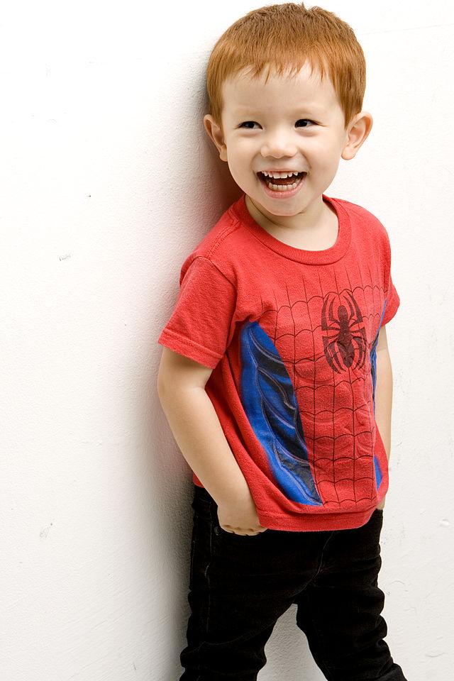 1_of_Korea's_1st_redheads-Terry_W._mom_Korean_(black_hair),_dad_Canadian_(brown_hair)